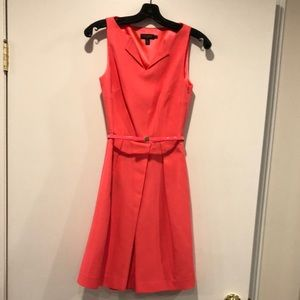 Ted Baker peony pink belted dress
